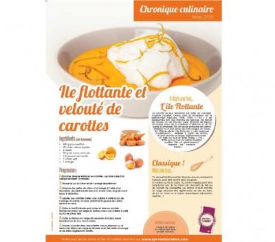 Chronique culinaire mars 2015
