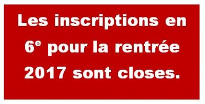 cloture inscrip